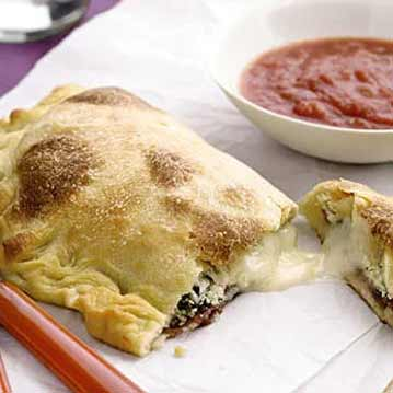 Imported Ham and Cheese Calzone